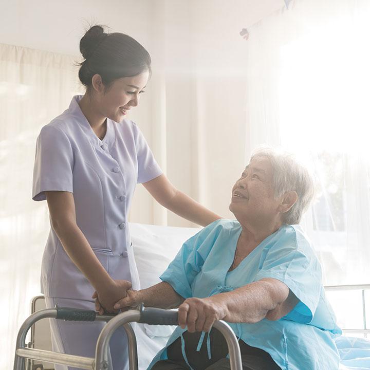 訪問看護師に転職したAさん
